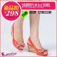 聚鞋惠女鞋 女鞋代理 单鞋 鱼嘴鞋 凉鞋 罗马女鞋 夏季新款