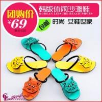 聚鞋惠女鞋 新款女鞋 韩版女鞋 拖鞋 休闲鞋 凉鞋 女鞋加盟