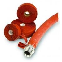 HF高性能氧化铁红硅胶带在设计上具有耐油、防水、阻燃等特点