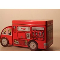 汽车形铁罐,玩具车铁盒