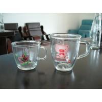 丝印玻璃杯