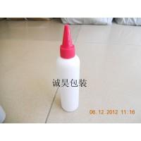 供应120ML电发水瓶  尖咀盖瓶  PE塑料瓶