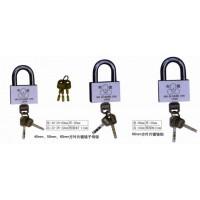 低价销售35弧叶片电力挂锁/电镀通开子母锁/方叶片表箱锁