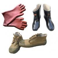 厂家销售双安牌35千伏绝缘手套/35千伏电工绝缘靴