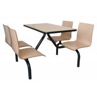 广州快餐桌椅@茶餐厅餐桌椅@美式汉堡桌椅