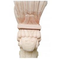 林典木业楼梯立柱/起步柱/将军柱/雕刻柱/凤柱