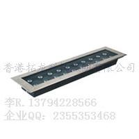 条形LED地埋灯 24w埋地灯地下灯600x150x60mm