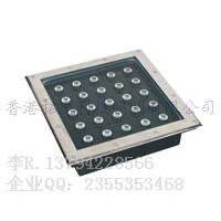 方形LED地埋灯25w 300x300x80mm 偏光埋地灯