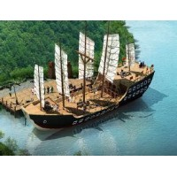 哪有景观船厂家 西班牙风情海盗船厂家