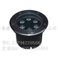 圆形LED地埋灯6w埋地灯Φ130x60mm 高亮单色