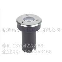 1W/3W圆形LED地埋灯 埋地灯 Φ65x85mm