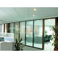 广州简和玻璃门维修 高间隔安装 玻璃隔墙移位 地弹簧安装