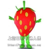 供应卡通人偶广告道具表演服装草莓