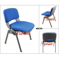 珠海地区带软垫休闲椅四脚培训椅