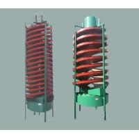 刻槽玻璃钢螺旋溜槽,富收集钛铁矿螺旋溜槽,厂家直销