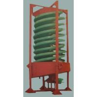 旋转玻璃钢螺旋溜槽,旋转功能处理效果更佳螺旋溜槽