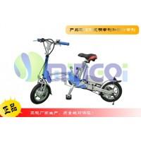 明琪12寸时尚便携迷你折叠电动车自行车代步车助力锂电池自行车