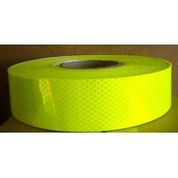 荧光黄绿反光条 校车反光标识