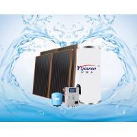亿家人别墅平板分体太阳能热水器系统