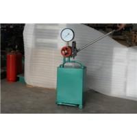 手动试压泵数显记录仪系统