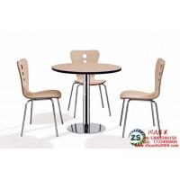 供应快餐厅曲木餐桌椅广州厂家特价定制
