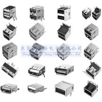 贴片*小USB插座/微型超薄USB插座/迷你超小USB插座