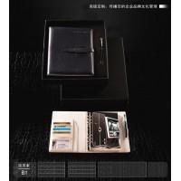 定制笔记事本,真皮笔记本,加工仿皮笔记事本,活页记事本定制