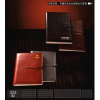 上海大中高档记事制作生产商,真皮变色PU记事本,仿皮记事本