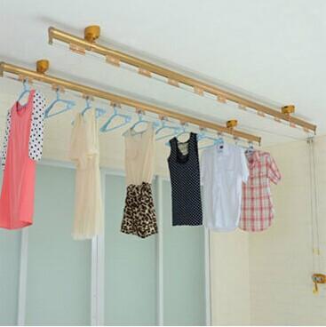 如何正确设计安装阳台晾衣架