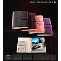 上海大的中高档记事本制作生产商,真皮记事本,变色PU记事本