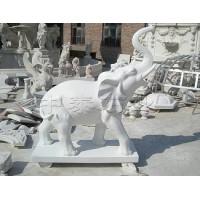 石雕大象定做-中泰石业有限公司