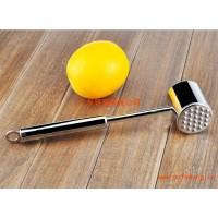 德国工艺 高档不锈钢肉锤 牛肉锤牛排锤 一体成型亮光版松