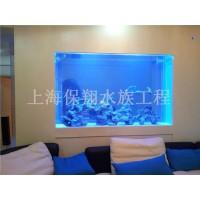 上海鱼缸制作/有机玻璃鱼缸/水族馆工程