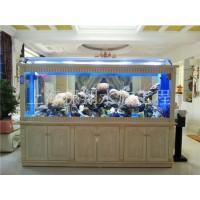 亚克力圆柱鱼缸/亚克力鱼缸多少钱/大型观赏鱼缸