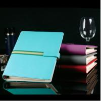 新款2015年商务记事本定做,订做皮制活页记事本