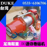 DU-208迷你卷扬机【350kg迷你电动葫芦】龙海起重代理