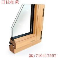日佳柏莱IV68系列纯实木门窗