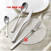 高品质新纪元系列 精致做工不锈钢牛扒刀叉勺 西餐刀叉餐具