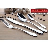 厂家直销 Carmen 18-10不锈钢刀叉勺 西餐餐具