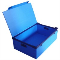 供应PP发泡可折叠周转箱 环保塑料箱
