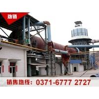 石灰生产线性能特点及工艺流程