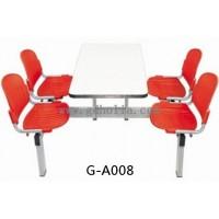 员工餐厅餐桌椅图片,单位食堂桌椅尺寸,广东餐厅家具厂家直销