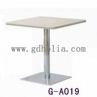 不锈钢分体式餐桌椅,防火板餐桌餐台,广东餐桌椅厂家直销定做