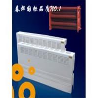 优质钢制翅片管散热器加厚镀锌层寿命可达50年以上L