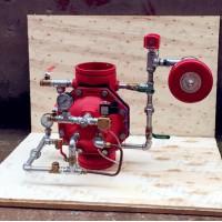 ZSFM沟槽式雨淋报警阀(隔膜式),供货证明,检验报告
