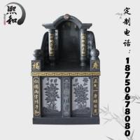 惠安山西黑石碑厂家诚信批发各种款式火葬墓碑艺术墓碑 支持定做