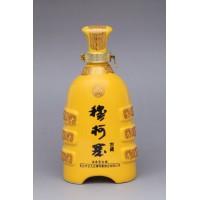 河南定做陶瓷酒瓶厂家 一斤葫芦酒瓶 青花瓷酒瓶批发