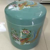 厂家直销日式骨灰盒 韩式骨灰盒骨灰罐 陶瓷骨灰罐批发