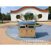 广州易居供应户外环卫不锈钢垃圾桶小区街道分类垃圾桶
