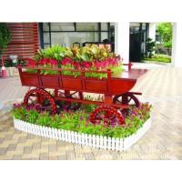 广州易居供应户外花车,园林花车,实木花车,景区花车